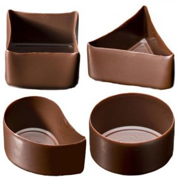 1 5 Diameter Mini Shape Chocolate Cups